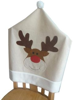 Hey~Yo Mr & Mrs Santa Claus Christmas Kitchen Chair Covers Sets Holiday Festive Decor (F Classy Christmas, Christmas Kitchen, Christmas Crafts, Christmas Ornaments, Kitchen Chair Covers, Kitchen Chairs, Festival Decorations, Xmas Decorations, Christmas Chair Covers