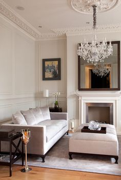 Cochrane Design Victorian Villa, Clapham - Victorian - Living Room - london - by Paul Craig Photography