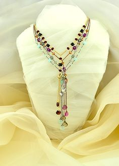 Sweet Dreams - a negligee necklace for layering