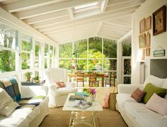Greenhouse Living Space - let the light in.