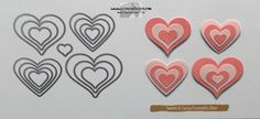 Layering Hearts - Stamps-N-Lingers