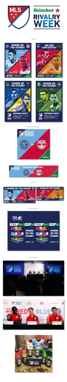 MLS Heineken Rivalry Week 1 – 2015 on Behance