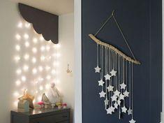 gwiazdki DIY, dekoracje do pokoju dziecięcego, pokój dziecięcy DIY zrób to sam Cd Diy, Diy Gift Baskets, Kidsroom, Baby Room, Diy And Crafts, Room Decor, Interior, Gifts, Handmade