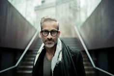 Handsome man on High line, Manhattan