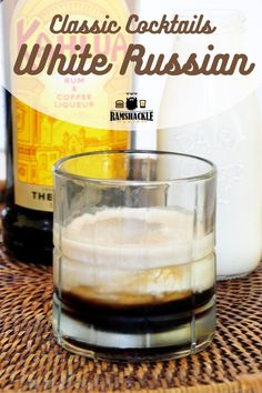 An Easy and Tasy White Russian Recipe! This Kahlua drink is so tasty and I will show you how to make this classic vodka cocktail.