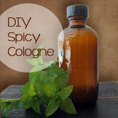 DIY Spicy Men's Cologne
