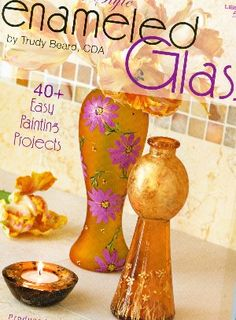 Glass craft pattern book