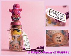FIMO Alice in Jar Bottle by ~MagicoMondoDiPLOPPI on deviantART