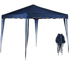 Superbe tonnelle tente de jardin 3x3 m pavillon réception pliable bleu + sac de transport neuf en vente sur Rue du Commerce mobile
