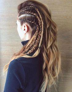 20 Easy Grunge Hairstyles For Killer Looks Bob Hairstyles Hairstyles 2018 - latest hairstyles 2018 . - 20 Easy Grunge Hairstyles For Killer Looks Bob Hairstyles Hairstyles 2018 – latest hairstyles 201 - Trending Hairstyles, Latest Hairstyles, Hairstyles 2018, Creative Hairstyles, Active Hairstyles, Hairstyles Pictures, Lagertha Hair, Faux Hawk Braid, Faux Mohawk
