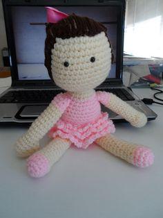 Crochet Crafts: Ballerina Tutorial/pattern