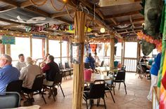 McConkey's Jungle Shack, Edisto Beach, SC a bucket of beer and a satisfying burger is all you need!