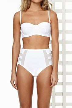 Nord Sud blog: Summer sheer fashion guide.  Aloe Vera bikini from Zulu and Zephyr