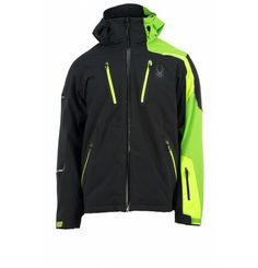 **SALE** Be different! With the asymmetrical style of the Spyder Vyper Jacket of you have not only the absolute eye-catcher but also sets a new benchmark for performance. Taped seams, waterproof material, and much more - this jacket offers all the important features that you need. You like high-speed and verschaffst you like an adrenaline rush while you're in the rush of speed? Spyder has been developed to drive you every day to excellence. Nothing can hold you! Ski Fashion, Hip Hop Fashion, Mens Fashion, Ski Wear, Deep Winter, Asymmetrical Design, How To Get Warm, Winter Wear, High Speed