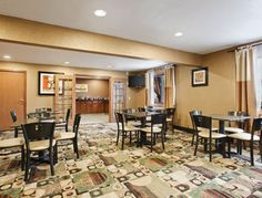 Days Inn & Suites Breakfast Area / Waterloo, Iowa
