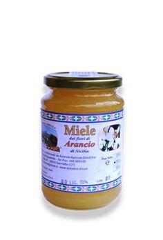 Miele vergine integrale dei fiori di Arancio