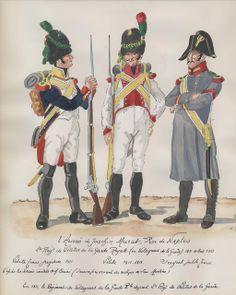 Vélites e sergente delle Vélites del 2 rgt. delle Vélites della guardia reale di Murat