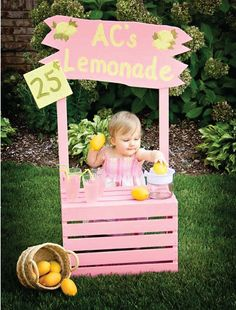 lemonade stand I want one for the kids asap I am htinking 2 one for the boys and one for the girls :) looks like I have to learn to use tools lol