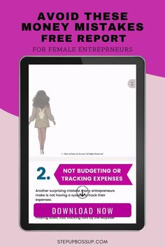 This report is for entrepreneurs who want to make wise money decisions, avoid mistakes and get the most out of their business. It includes 5 things you can do differently today that will change your bottom line tomorrow. Download it now! Tracking Expenses, Budget Tracking, Business Marketing, Business Tips, Online Business, Business Ideas For Beginners, Tips Online, Creating A Business, Managing Your Money