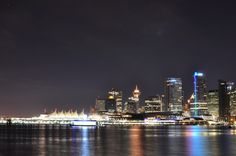 Vancouver B.C. by night