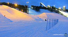 Séjour linguistique en Laponie avec le CEI  #Laponie #Lapland #CEI #voyage #travel #sejourlinguistique #winter #nature #snow #piste #ski #fun