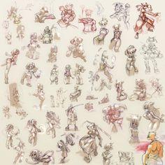 doodles_2, Xavier Houssin on ArtStation at https://www.artstation.com/artwork/doodles_2