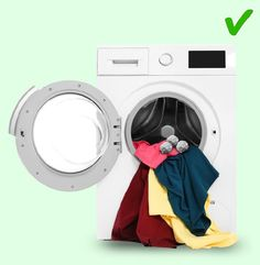 Doing the laundry is probably one of the most boring house chores, but there really is no way around it. Even though engineers invent new home appliances all th Laundry Drying, Doing Laundry, Laundry Hacks, Laundry Room, How To Shrink Clothes, How To Iron Clothes, Remove Makeup Stains, Sorting Clothes, House Chores