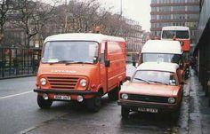 Leyland EA (Morris Ital van to the right)