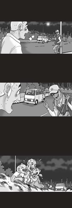 Silent Horror :: Ransom   Tapastic Comics - image 3