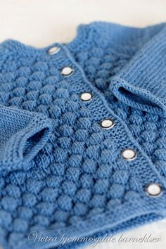 Buble cardigan. Norwegian Pattern.