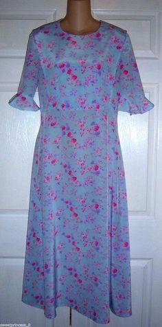 "Amish #Mennonite Handmade Modest Homemade #Tall Cape Dress 38""Bust / 30"" Waist #Handmade #Cape #Casual"
