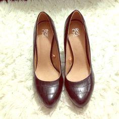 Black heels Like new no damage size 7 NY & C Shoes Heeled Boots