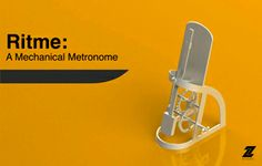 David Hillenbrand's mechanical metronome.- UW-STOUT