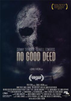 Supernatural Horror Short Film by Sohail A. Hassan - official poster by Martin Hansen