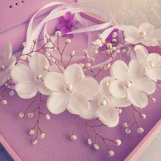 Moda hecha a mano pétalos de flores de seda de banda de la novia venda nupcial de la boda accesorios del pelo del partido regalo en Joyas para Cabello de Joyería en AliExpress.com | Alibaba Group
