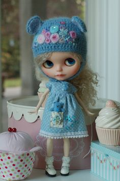 Hat and dress made by Lille Princesse