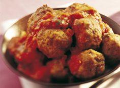 Kjøttboller i tomatsaus til tapas