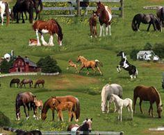 Elizabeth Studios Farm Animals Horses