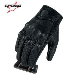 Motorcycle Gloves Moto GP Glove Leather Touch Screen For Men