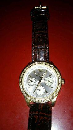 Ladies Callaway Golf Gems Watch Series FMDCY220 Chronograph MOP Crystals  #Callaway #LuxurySportStyles
