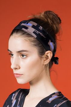 AH/OK- Notturno - Silk Headband