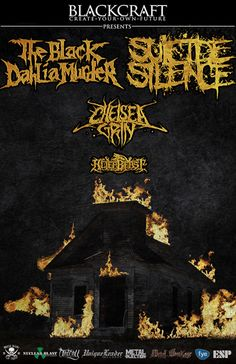 Michigan-based melodic death metal behemoths, THE BLACK DAHLIA MURDER, are ready to quake stages on a Blackcraft-sponsored heavy metal campaign across North America with co-headliners SUICIDE SILEN...
