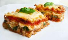La #ricetta per lasagne vegetariane con ricotta e provola. #primipiatti #ricettevegetariane