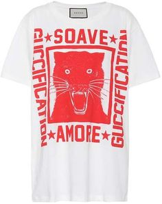 5e9dd507bfb Gucci Printed cotton T-shirt