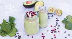 'Mommy & Baby' Avocado and Spinach Smoothie Baby Led Feeding.