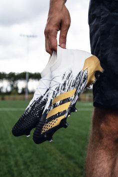 "Gold standard. 🏆 Available now: adidas ""Inflight"" #Predator20 — #soccerdotcom #adidasfootball #adidas"