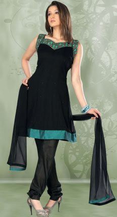 Beautiful Black Salwar