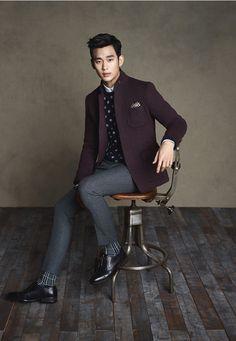 Kim Soo Hyun ZIOZIA Fall 2014 Ad Campaign