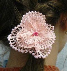 Advanced Embroidery Designs - FSL Battenberg 3D Lace Camellia
