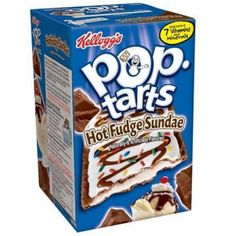 Kellogs Poptarts Hot Fudge: My brother and I both loved these as kids, we only got the chance to have them a few times, but we still loved them every time we got them!